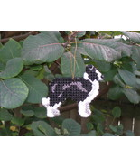 Border Collie everyday Ornament, OOAK, clearance - get it before it is gone - $13.65