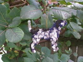 Bluetick Coonhoundb everyday Ornament, OOAK, cl... - $16.90
