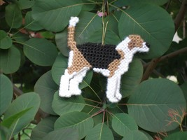 American Foxhound everyday Ornament, OOAK, clea... - $18.70