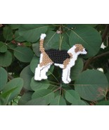 American Foxhound everyday Ornament, OOAK, clearance - get it before it ... - $18.70