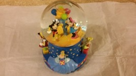 Walt Disney 100th Anniversary Birthday Snow Globe when You Wish Upon A Star - $19.78