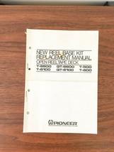 Pioneer T-500 600 QT-6100 6600 T-6600  Reel Base Kit Replacement Manual ... - $18.53