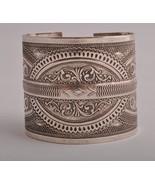 Vintage berber Bedouin silver bracelet Cuff/nor... - $296.01
