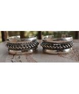 Antique Egyptian Ethnic Bedouin Silver Siwa Bra... - $296.01