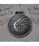 Ethnic Moroccan Berber style-Sterling Silver Pe... - $38.61