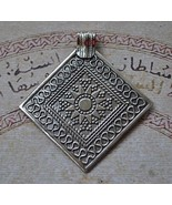 Ethnic Egyptian Bedouin style-Silver Pendant Ch... - $48.51