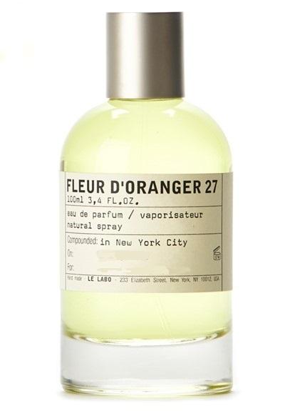 FLEUR D'ORANGER by LE LABO 5ml Travel Spray Perfume PETITGRAIN LEMON F27