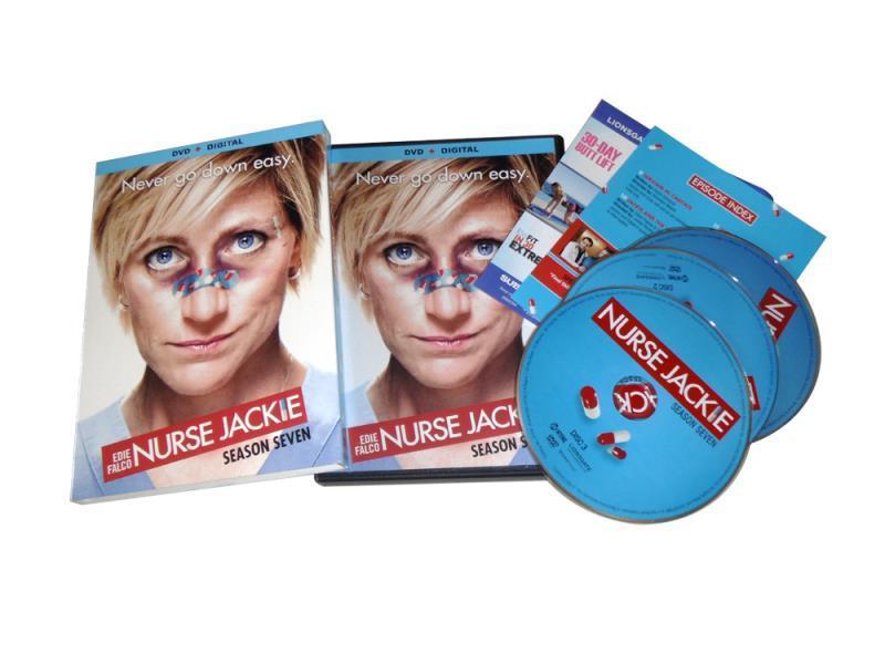 Nurse Jackie The Complete Season 7 DVD Box Set 3 Disc Free Shipping