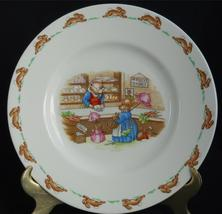 ROYAL DOULTON ~ Bunnykins ~ Mr. Piggly's Stores ~ Plate - $24.95