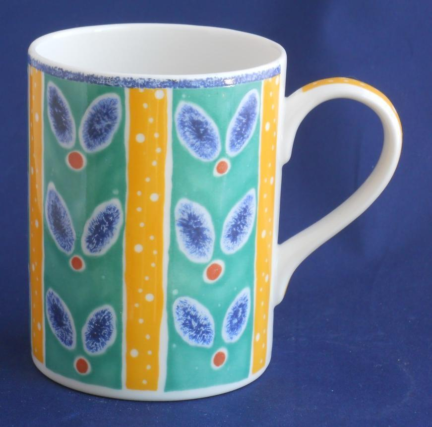 Primary image for ROYAL DOULTON Rio Everday Coffee Cup Mug 1996