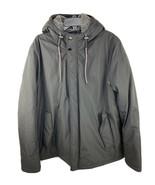 Ted Baker London Parka Coat Men's 7 US 46 / 3XL Black Wool Cashmere THIC... - $119.75