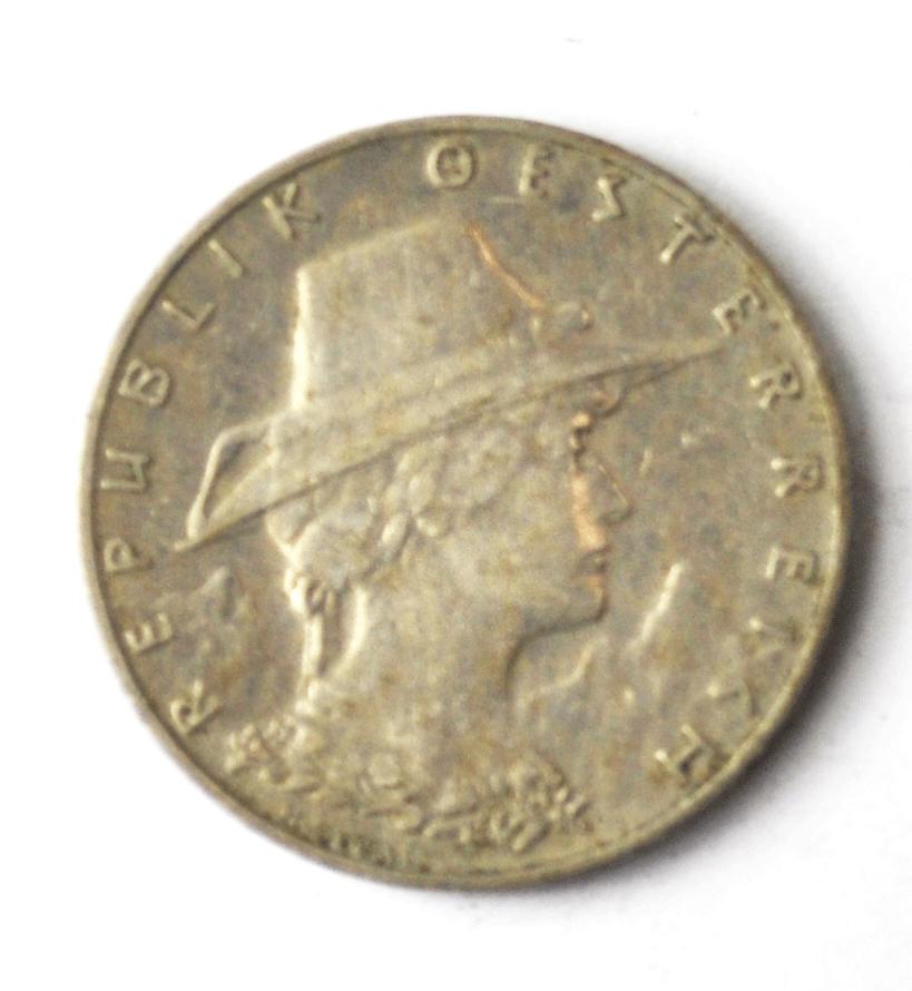 1925 Austria 10 Ten Groschen KM# 2838 Copper Nickel Coin