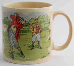 Russ Golf Golfer Coffee Cup  Mug - $14.95