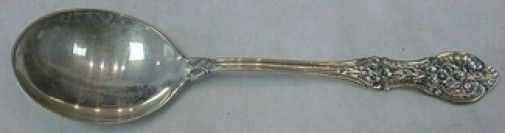 Springtime by International Sterling Silver Cream Soup Spoon 6""