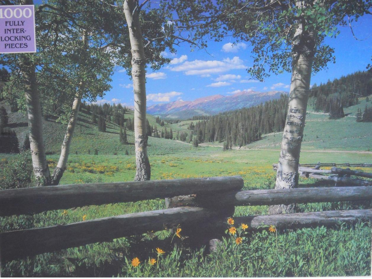 Primary image for Rainbow ~ Grey's Basin, Wyoming ~ 1000 PC Puzzle ~ New Sealed Outdoor Wilderness
