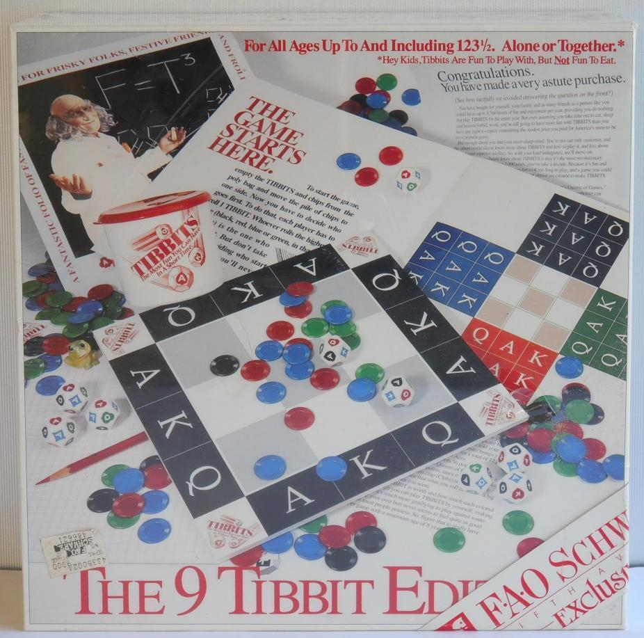Primary image for Rare Vintage 1992 ~ The 9 Tibbit Edition Board Game ~ New Sealed w FAO SWARZ Tag