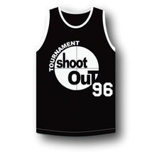 Birdie #96 Above The Rim Tournament Shoot Out Basketball Jersey Black Any Size image 1