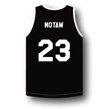 Motaw #23 Above The Rim Tournament Shoot Out Basketball Jersey Black Any Size image 2