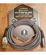 Celltronix- Titanium- 6' Tangle Free, Heavy Duty USB Cable- USB to Type ... - $9.30