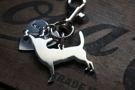 Chihuahua Personalized Keychain Dog Lover - $18.00