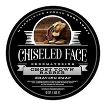 Ghost Town Barber - Handmade Luxury Shaving Soap from Chiseled Face Groomatorium