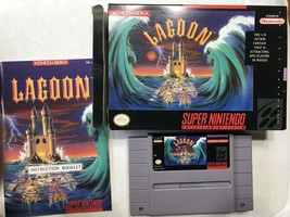 Lagoon (Super Nintendo Entertainment System, 1991) CIB ES02 - $50.99