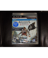 New Assassins Creed IV Black Flag PS3 PlayStation 3 W/ Bonus DLC Free Shipping - $9.89