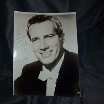 Early JEROME HINES Metropolitan Opera Singer Hand-Signed Autograph Photo... - $19.99