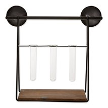 Wall Shelf With Vases - $45.50