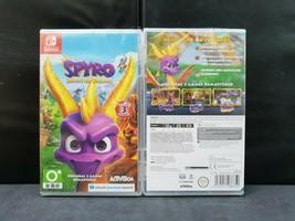(ASIA ENGLISH VERSION) Nintendo Switch Spyro Reignited Trilogy (Brand New) - $43.35
