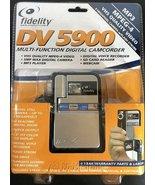 FIDELITY DV 5900  MULTI - FUNCITIONAL DIGITAL CAMCORDER  NEW SEALED - $30.00