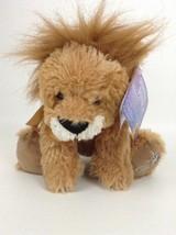 Russ Berrie Shining Stars Brown Lion Plush Stuffed Toy w/ Tags & Code - $14.80