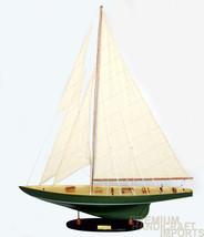 """24"""" Shamrock Irish Green Sailing Boat Model - $77.22"""
