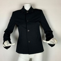 Ralph Lauren Black label Blazer Jacket Black Career Women Sz 6 - $79.99