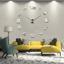 2017 HOT 3d diy Acrylic miroir wall stickers clock watch clocks Quartz M... - £17.89 GBP