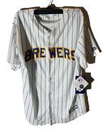 Majestic Athlétique Jeunesse Milwaukee Brewers Jonathan Lucroy Jersey Ra... - $28.69