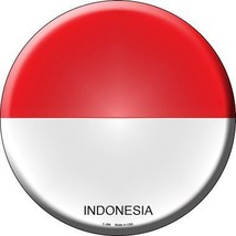 Indonesia Country Novelty Metal Circular Sign - $21.95