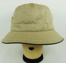 Dorfman Pacific Khaki Bucket Hat Size M 100% Cotton Packable Summer Sun ... - $14.84