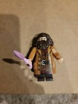 Lego Harry Potter 75947 Hagrid Brick Minifigure with Pink Umbrella - $5.00