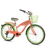 """Girl's Margaritaville Cruiser Bike 24"""" Perfect Fit Frame Comfort Ride, C... - $235.15"""