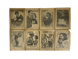 GRIT Magazine Story Section 1936 Antique Periodical- Lot of 8 - $34.60