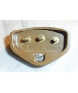 Singer 306K Light Brown Plastic Power Terminal 3 Posts w/3 Nuts Large Ch... - $10.00