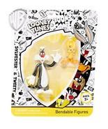 New Warner Brothers Looney Tunes Sylvester & Tweety Bendable Figures NJ ... - $48.00