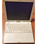 "Apple iBook G4 12.1"" Laptop - M9163LL/A - parts... - $10.88"