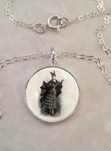 Sterling Silver 925 Necklace Victorian Bat Girl Costume Halloween - $30.50+
