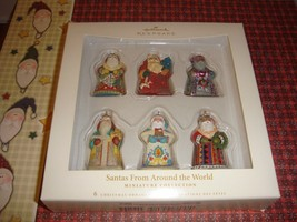 Hallmark 2006 Santas From Around The World Miniature Ornament - $23.99