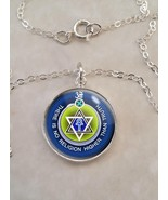 Sterling Silver 925 Necklace Theosophy There Is No Religion Higher Than ... - $30.20+