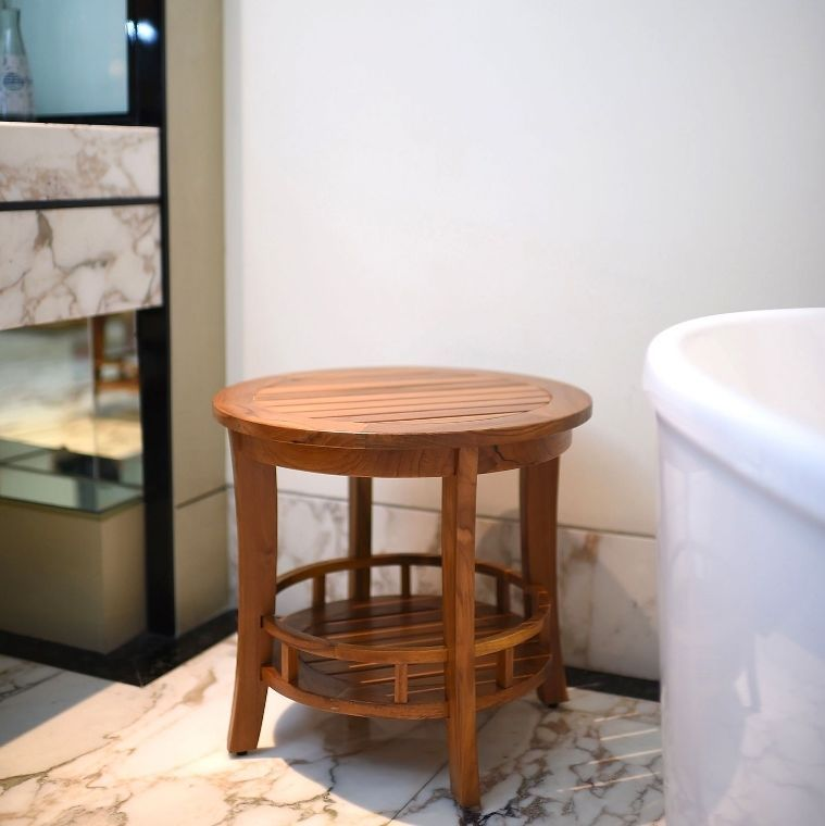 Small table for bathroom best 28 images bathroom for Small bathroom accent tables
