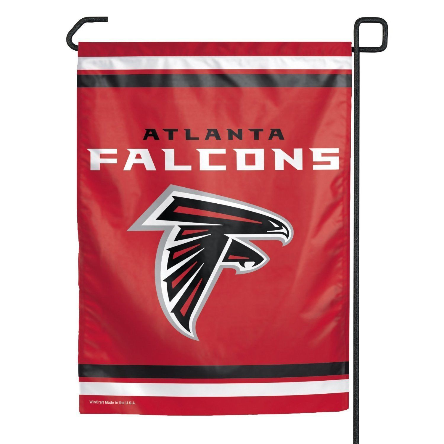 "ATLANTA FALCONS TEAM GARDEN WALL FLAG BANNER 11"" X 15"" NFL FOOTBALL"