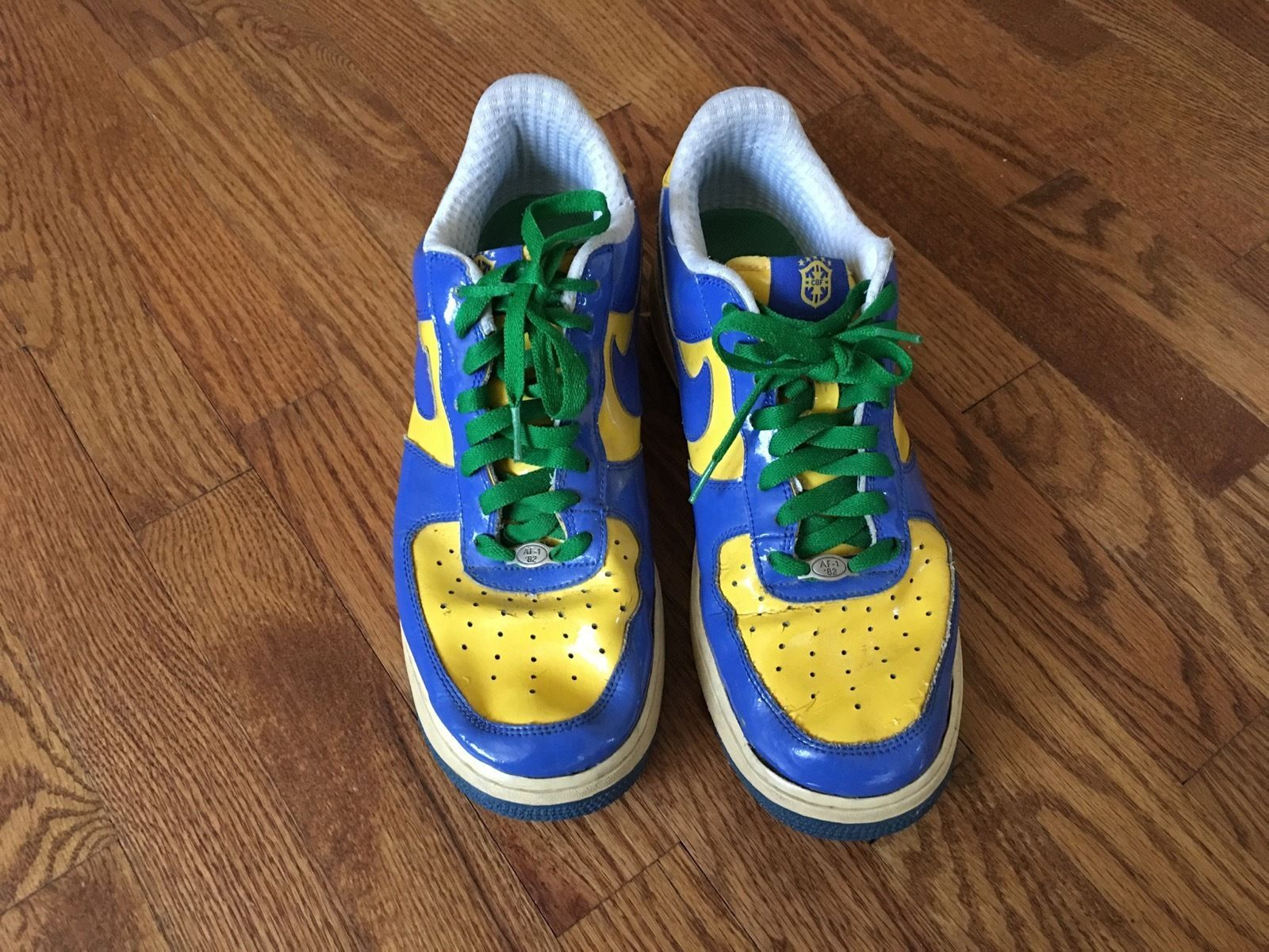best website 5596e 036d7 2006 Mens Nike Air Force 1 Brasil World Cup and 43 similar i